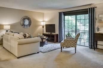 Living Room, Hillcrest Village, 1