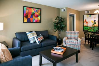 Living Room, Allison Gardens, 1