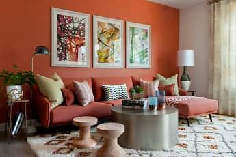 Living Room, Villas at Playa Vista - Malibu, 2