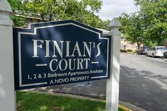 Community Signage, Finian's Court, 1