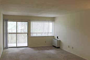 Living Room, River Drive Apartments, 2