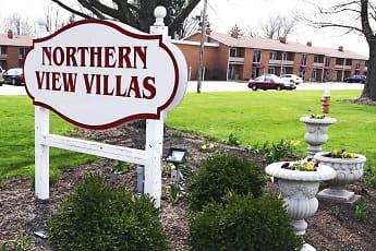 Building, Northern View Villas, 2