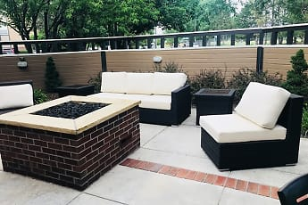Patio / Deck, Pinecone Apartments, 2