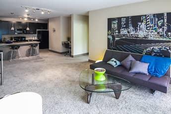 Living Room, Lofts At Willow Creek, 0