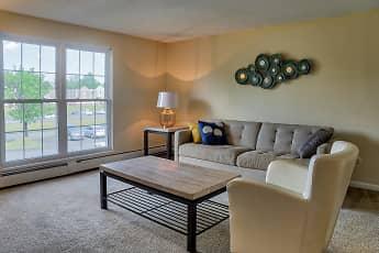 Living Room, Boulders Apartment Homes, 1