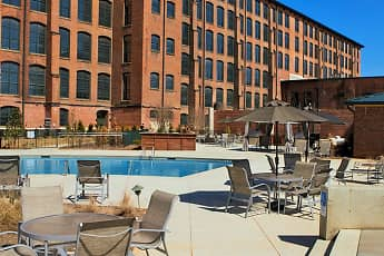Pool, Loray Mill Lofts Apartments, 1