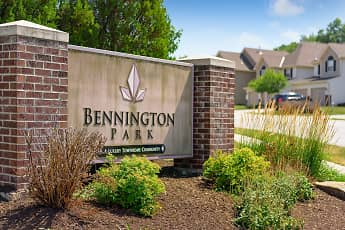 Community Signage, Bennington Park Townhomes, 1