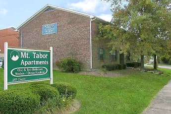 Community Signage, Mount Tabor Apartments, 2