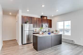 Kitchen, Technology Park Apartments, 1