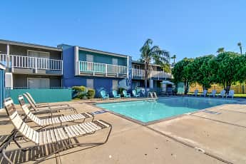 Pool, Bay Bluff Apartments, 0