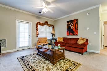 Living Room, Carolina Place Apartments, 1
