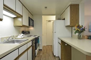 Kitchen, Parkwood Apartments, 2