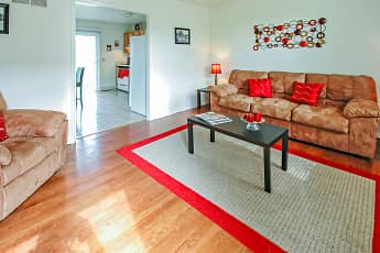 Living Room, Hawthorne Place Apartments, 0