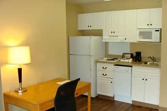 Kitchen, Furnished Studio - San Jose - Airport, 1