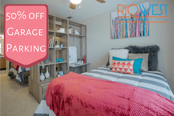 Bedroom, Rio West - Per Bed Leases, 0