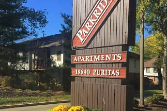 Community Signage, Parkridge Apartments, 0