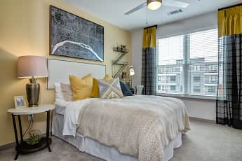 Bedroom, One Riverwalk, 1