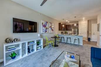 Living Room, One Deerfield, 1