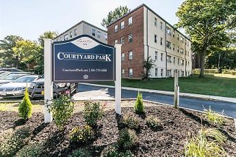 Community Signage, Courtyard Park, 0
