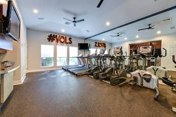 Fitness Weight Room, University Park Student Apartments, 1