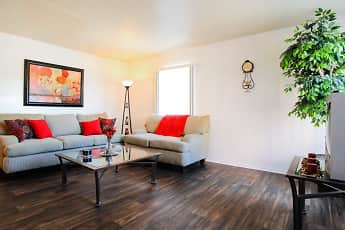 Living Room, Campus Pointe, 1