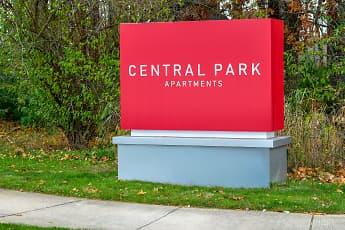 Community Signage, Central Park Apartments, 2