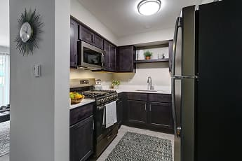 Kitchen, Westmont Village Apartments, 1