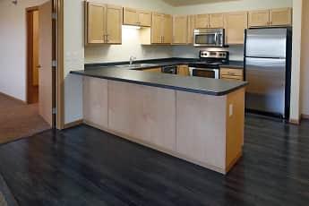 Kitchen, West Lake II Apartments, 0