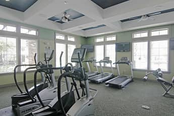 Fitness Weight Room, Oakleaf Plantation, 2