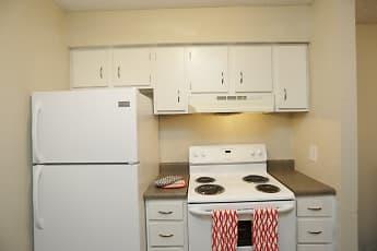Kitchen, Crossroads Village Apartments, 1