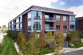 Building, Flats On Vine Apartments, 0