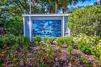 Community Signage, The Ava, 2