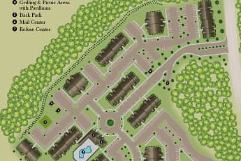 Community Signage, The Village of Ballantyne Apartment Homes, 2