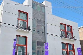 Community Signage, Lido Apartments at 1039 S. Hobart, 0