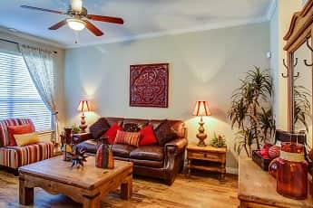 Living Room, Ranch At City Park, 1