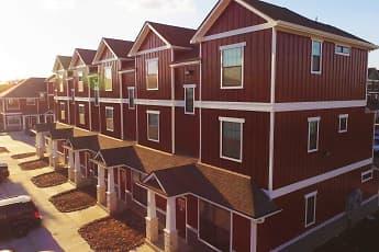 Building, Camber Villas, 1