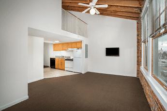 Living Room, Coliseum Lofts, 0