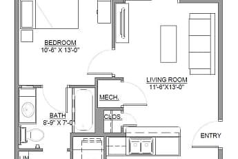 West Gate Ridge Apartment Homes, 2