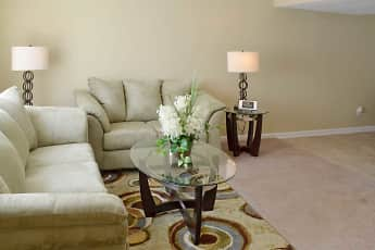 Living Room, Foxwood Apartment Townhomes, 0