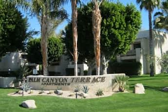 Community Signage, Palm Canyon Terrace, 2