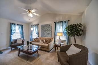 Living Room, Candlewood Apartments, 1