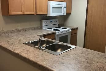 Kitchen, Legacy South Apartments, 0