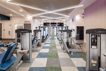Fitness Weight Room, Hebron 121 Station, 1