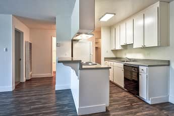 Kitchen, Modera Apartments, 1