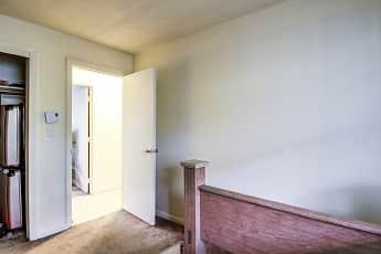 Bedroom, Parker Street Apartments, 2