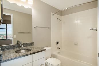 Bathroom, Plaza Towers Apartments, 2