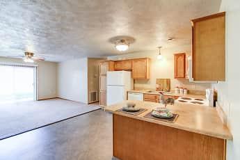 Kitchen, Devon Apartments, 0
