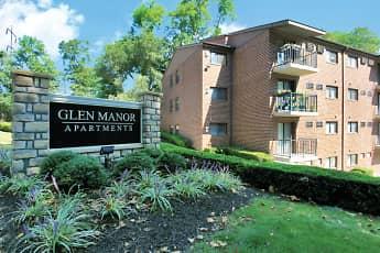Community Signage, Glen Manor Apartments, 0