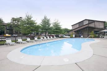 Pool, Forest Creek Apartments, 0