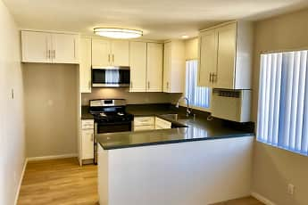 Kitchen, Towne Center Apartments, 1